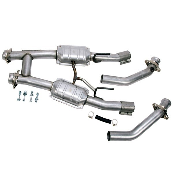 Mustang 5.0 2-1/2 In. Catted H-Pipe (86-93)