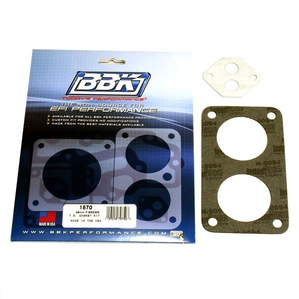 Throttle Body Gasket Kit - Ford F-Series Twin 56MM For #3501