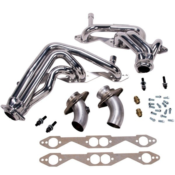 Chevy Impala SS 1-5/8 In. Shorty Headers - Chrome (93-96)