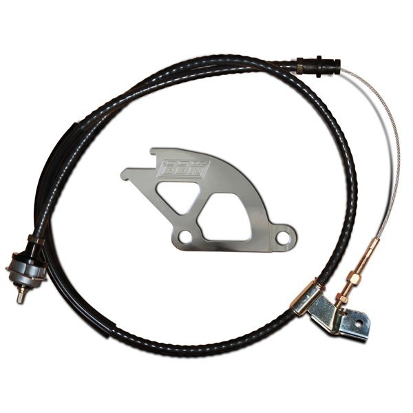 Mustang GT/Cobra Adjustable Clutch Cable & Quadrant (96-04)