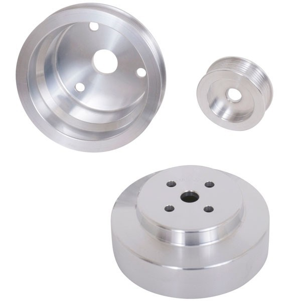 Camaro/Firebird Underdrive Pulley Kit - Aluminum (88-92)