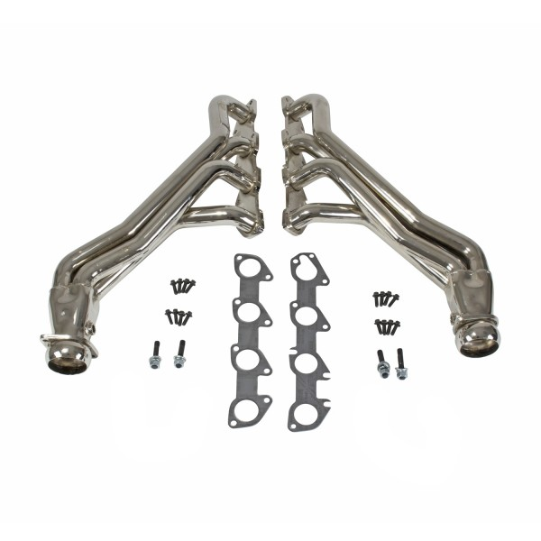 "Full Length Headers 1-7/8"" - Chrome (06-18 Charger, Challenger SRT8 Hell Cat )"