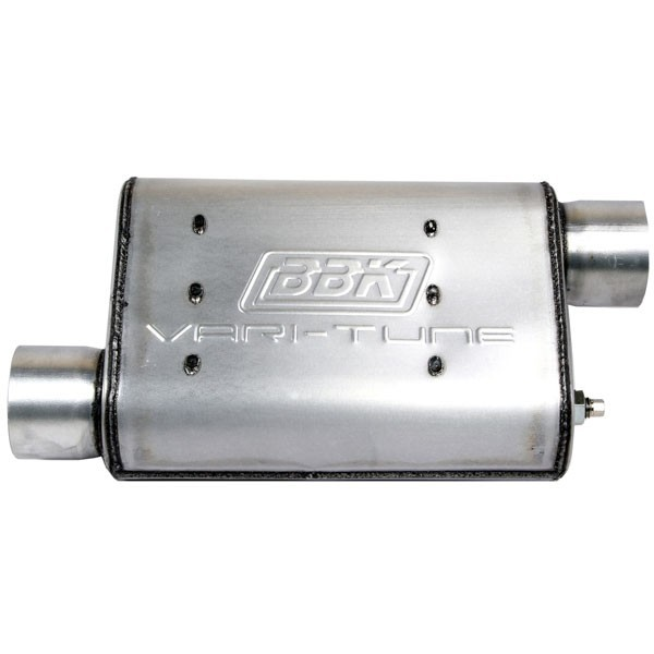 2-1/2 In. Varitune Muffler Double Offset Aluminized