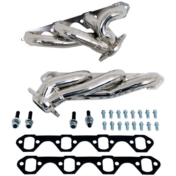 Ford F150 302 1-5/8 In. Shorty Headers - Chrome (87-95)