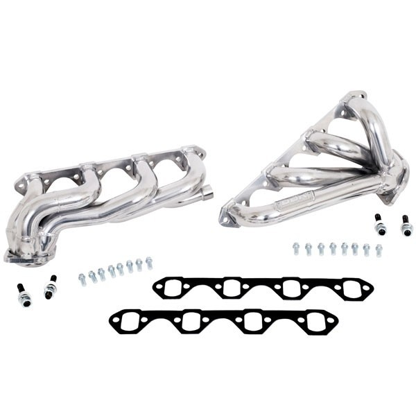 Ford F150 351 1-5/8 In. Shorty Headers - Ceramic (87-95)