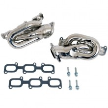 Mustang V6 1-5/8 In. Shorty Headers - Chrome (11-17)