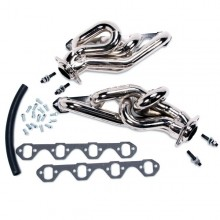 Mustang 5.0 1-5/8 In. Shorty Equal-Length Headers - Chrome (86-93)