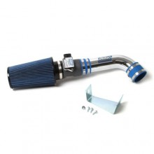 Mustang 5.0 Cold Air Intake Non-Fenderwell - Chrome (86-93)