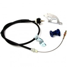 Mustang Adjustable Clutch Quad & Cable w/ Firewall Adjuster (96-04)