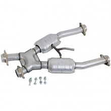 Mustang GT 2-1/2 In. Catted Short X-Pipe (94-95)