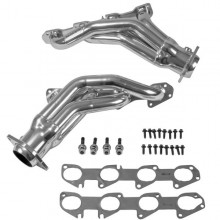 Challenger/Charger 6.4 Hemi Shorty Headers 1-7/8 In. - Chrome (11-17)