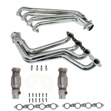"1-7/8"" High Flow Catted Long Tube Headers Chrome (10-15 Camaro V8)"